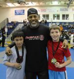 Mark Jones and FJJ kids competitors